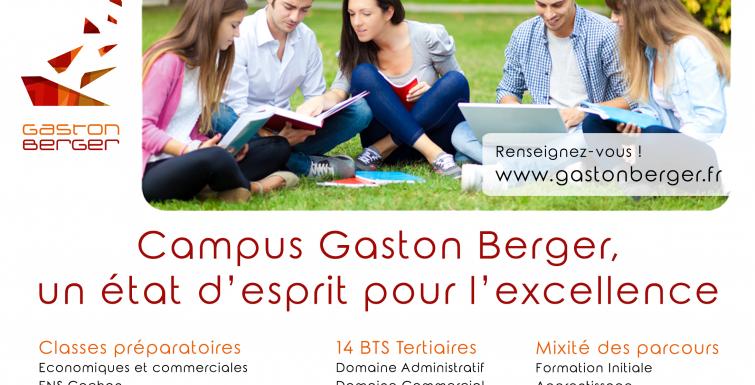Gaston Berger te donne rendez-vous….