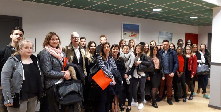 Journée École Entreprise : plus de 110 professionnels au RDV : un vrai succès !